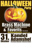 Halloween Party mit Brass Machine